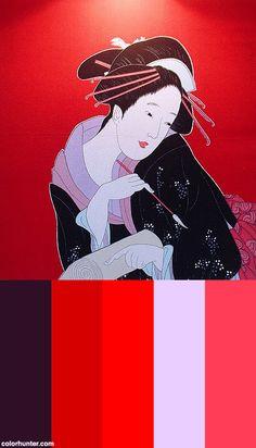 Japanese+Woman+Color+Scheme