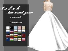 with a low V-Cut top. Found in TSR Category 'Sims 4 Female Formal'/gown with a low V-Cut top. Found in TSR Category 'Sims 4 Female Formal' Sims 4 Mods Clothes, Sims 4 Clothing, Female Clothing, The Sims 4 Pc, Sims Cc, Sims 4 Wedding Dress, Wedding Dresses, Los Sims 4 Mods, Sims 4 Dresses