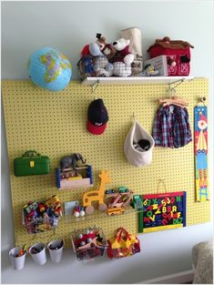 50d61f68523 20 Clever Kids Playroom Organization Hacks and Ideas