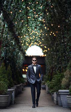 Suitable custom suit | Paul Evans Shoes | Topman bow tie | Details at http://iamgalla.com/2015/03/mondrian-twilight/