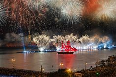 Санкт-Петербург, Алые паруса 2015