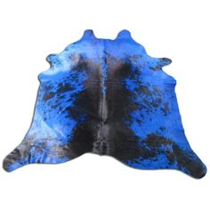 Cowhide Furniture, Cowhide Pillows, Cow Hide Rug, Rug Size, Pillow Covers, Blue And White, Rugs, Farmhouse Rugs, Pillow Case Dresses