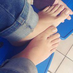 No photo description available. Pretty Toe Nails, Pretty Toes, Sexy Zehen, Foot Pics, Soft Feet, Pretty Females, Beautiful Toes, Cute Toes, Hot High Heels
