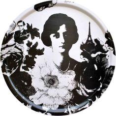 Taca okrągła Mademoiselle Ø 46cm