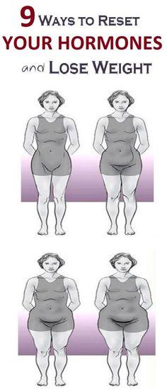 9 Proven Ways To Fix The Hormones That Control Your Weight #hormones #lose #loseweightfast #loseweightfastandeasy