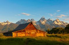 Grand Tetons- Jackson Hole, Wyoming. One of the most photographed places!