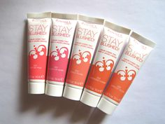 Beauty Reductionista: All five shades of the Rimmel Stay Blushed! Liquid Cheek Tints
