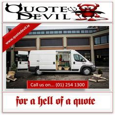 cd87178ef2 Get Van Insurance online from Quote Devil. We provide private vehicle    Commercial Insurance Quotes for all vehicles from vans to articulated  lorries.