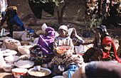 WOMEN OF NIGER | FEMMES DU NIGER. A film by Anne Laure Folly. 1993. Niger is a traditionally Islamic country where authorized polygamy and Muslim fundamentalism clash with the country's struggle for democracy.  (Women Make Movies)
