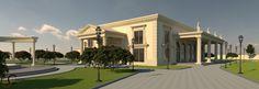 Proiect fatada salon de evenimente Venus Palace Videle Venus, Palace, Exterior, Mansions, House Styles, Design, Home Decor, Decoration Home, Manor Houses