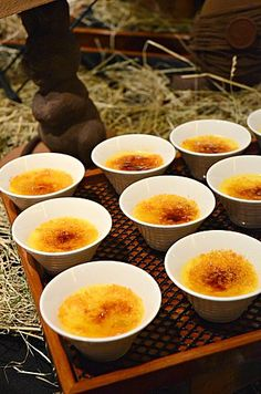 Passion Fruit Chocolate Crème Brulee @ Clipper Lounge, Mandarin Oriental Hotel (Hong Kong) ♥ Dessert
