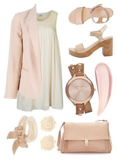 """""""#15"""" by blueberrylexie ❤ liked on Polyvore featuring Molly Bracken, Chloé, American Apparel, Zara, J by Jasper Conran, Michael Kors, Fornash and Benefit"""