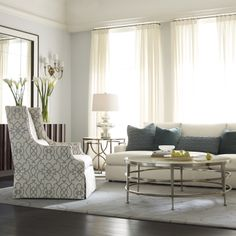 Bon Bernhardt. Darbin Chair, Josh Sofa, Haven Living Room Brighten Dark Room,  Bernhardt