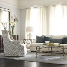 Bernhardt. Darbin Chair, Josh Sofa, Haven living room