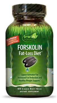 Forskolin is an extract derived from the Coleus plant. Researchers have discovered that forskolin promotes the breakdown of stored fat in the body. When used in conjunction with a sensible diet and exercise, forskolin can help reduce body fat and optimize body composition overall. Please visit IrwinNaturals.com for more information about this product.