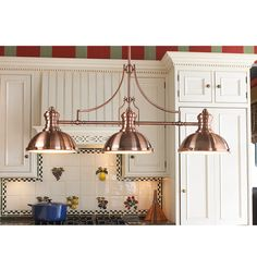 Check out Period Pendant Island Chandelier - 3 Light from Shades of Light