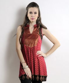 'Global Desi' tunic available on www.fashionandyou.com!  Join us for an exuberant shopping experience here: http://pinterest.fashionandyou.com  #fashionandyou #fashion #women #apparel #globaldesi #ethnicwear #indian
