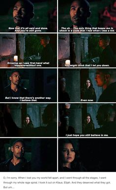 "#TheOriginals 4x08 ""Voodoo in My Blood"" - Marcel and Davina"