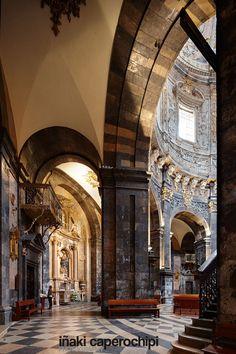Basilica, Santuario de Loiola, Azpeitia, Gipuzkoa, Guipuzcoa, Pais Vasco, Spain. © Inaki Caperochipi Photography