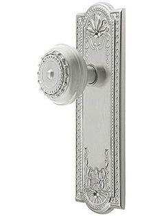 Meadows Style Door Set With Meadows Door Knobs | House of Antique Hardware