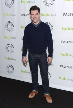 Max Greenfield looked handsome on the red carpet at PaleyFest in LA.