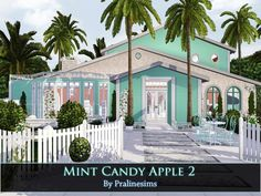 Mint Candy Apple 2 by Pralinesims - Sims 3 Downloads CC Caboodle