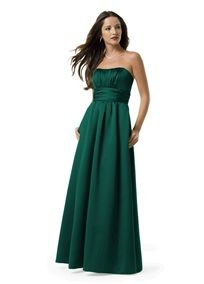 Bridesmaid color (Holly from David's Bridal).  Everyone gets to pick their own style as long as it's a long dress.
