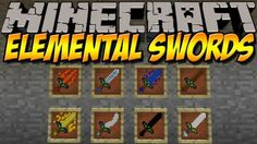 Elemental Swords Mod for Minecraft 1.6.4