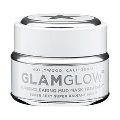 GLAMGLOW Super-Mud™ Clearing Treatment - believe the hype, this mask made my pores smaller and blackheads disappear after one use. If you want to see for yourself before investing in the product, go to te Glam Glow website and order the sample pack for $11.