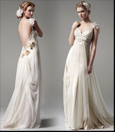 Bohemian Wedding Dress design and sample picture | Wedding Idea & Tips