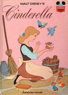 Walt Disney's Cinderella - a vintage book. $9,50, via Etsy.