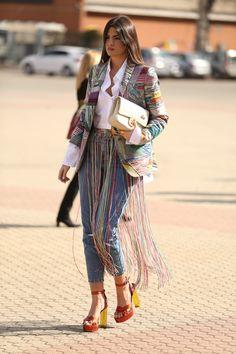 Milan Fashion Week Street Style 2017