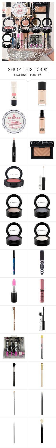 """""""TAYLOR SWIFT GRAMMYS 2014 INSPIRED MAKEUP"""" by oroartye-1 on Polyvore featuring beauty, MAC Cosmetics, Essence, NARS Cosmetics, L'Oréal Paris, Rimmel and NYX"""