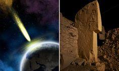 Древние каменные изваяния подтверждают, что комета врежется в землю 13000 лет назад