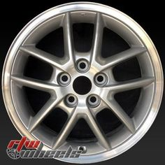"17"""" Mitsubishi Eclipse oem wheels for sale 1997-2005 Silver rims 65752"