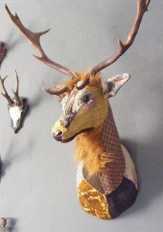Off The Wall Animal 3D Wall Sculptures