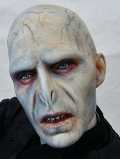 arlenelovesdolls's Laurie Leigh Tonner Doll Lord Voldemort repaint. #repaint #dolls #potter in dollduels.com