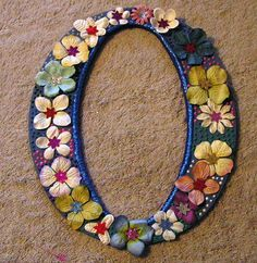 Blue Wooden Decorative Letter O by peachiepockets on Etsy, $10.00