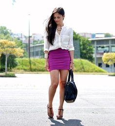 Feirinha Chic : Como usar: Camisa branca