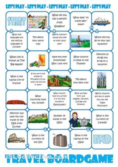Travel Board Game