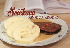Svíčková na smetaně - dokonalý recept krok za krokem Czech Recipes, Pancakes, Food And Drink, Cooking, Breakfast, Morning Coffee, Crepes, Kochen, Pancake