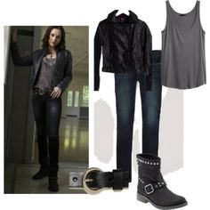 """Supernatural Meg Outfit"" by jessicarogers-1 on Polyvore"