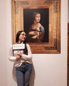 """Weronika Czachor (@weronixy) na Instagramie: """"zaczęło się ... #art #mnk #museum  #leonardodavinci"""""""
