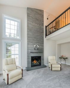 armstrong residence fireplace surround in ocean silver silveru2026 fireplace pinterest fireplace surrounds tiled fireplace and ceiling
