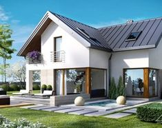 homify is an online platform for architecture, interior design, building and decoration. homify offers everything the end user requires, from the planning stage, up to the delivery of the keys to your dream home. Interior And Exterior, Interior Design, Cute House, House Extensions, Home Fashion, Architecture Design, Villa, House Design, House Styles