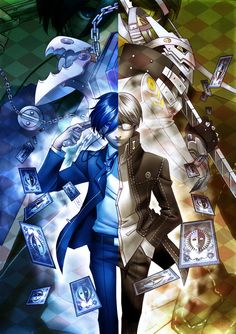 Persona 3 AND 4 most of all double games and episode there just getting lot some.....stuff