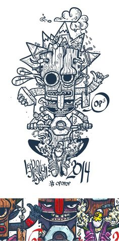 Print for t-shirt PDS 2014 on Behance by Konstantin Anufriev, Moscow, Russian Federation ı Digital Art ı Illustration ı Draw ı