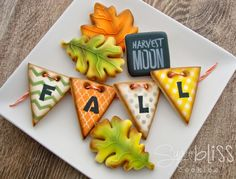 SugarBliss Cookies: Fall