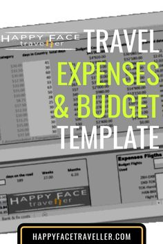I made a simple but effective excel sheet template that you can keep easily control and track over your travel budget and expenses Budget Travel, Free Travel, Budget Template, Traveling By Yourself, Budgeting, Travel Destinations, Templates, Reading, Face