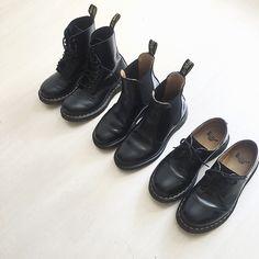 Pin by Novák Júlia on martens in 2020 Fashion 2017, Fashion Shoes, Fashion Outfits, Womens Fashion, Dr. Martens, Cinderella Shoes, Fancy Shoes, Androgynous Fashion, Minimal Fashion